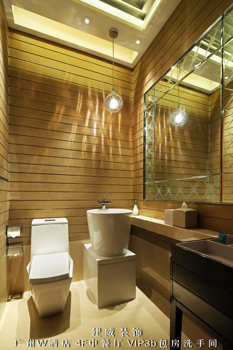 在 酒店装修设计过程中,卫生间的设计显得尤为重要,现代顶级酒店装修